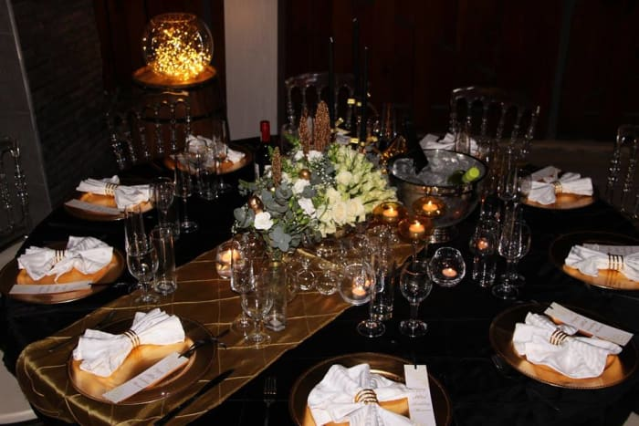Luxe Dinner Package available