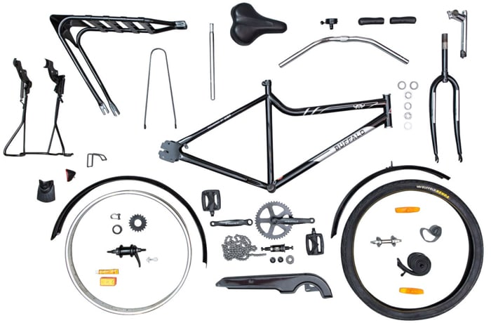 A huge range of Buffalo Bicycle parts and accessories