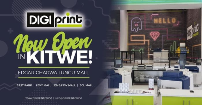 Now open in Kitwe!