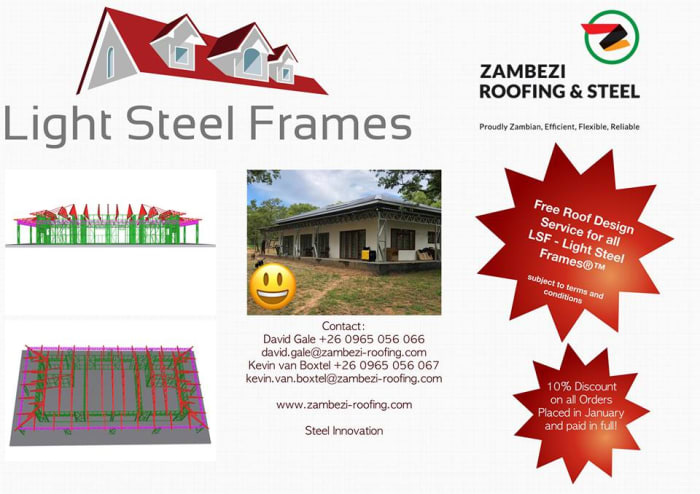 LSF - Light Steel Frame®™ Special Offer
