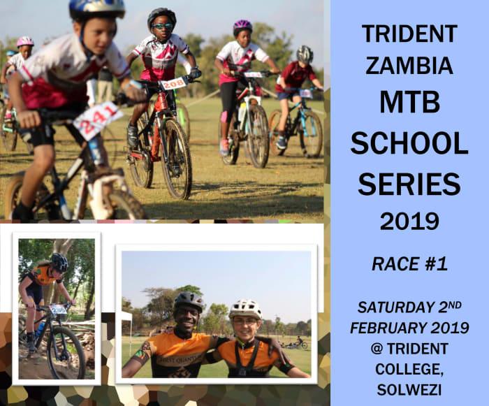Trident Zambia MTB school series 2019 race 1