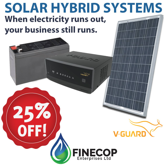 Get 25% off Solar Hybrid Systems