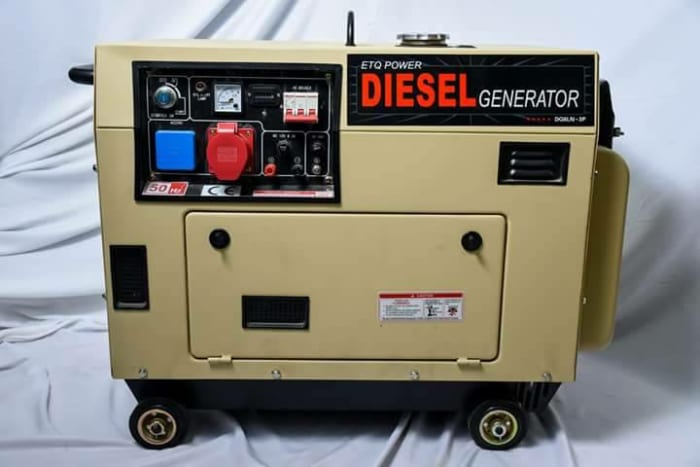 Silent generator available in store
