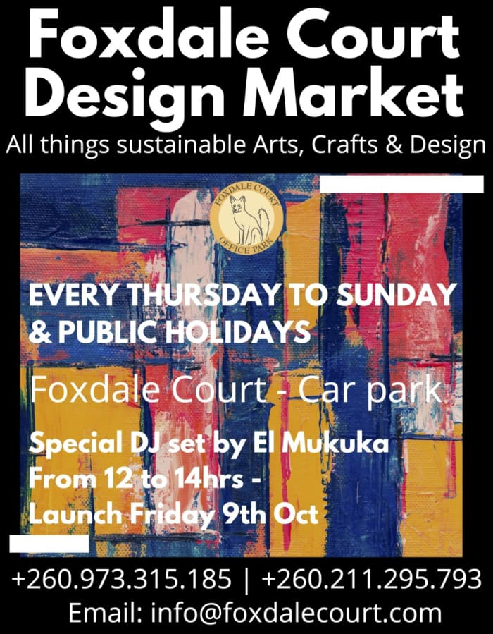 Foxdale Court Design Market with sustainable, Arts, Craft and design