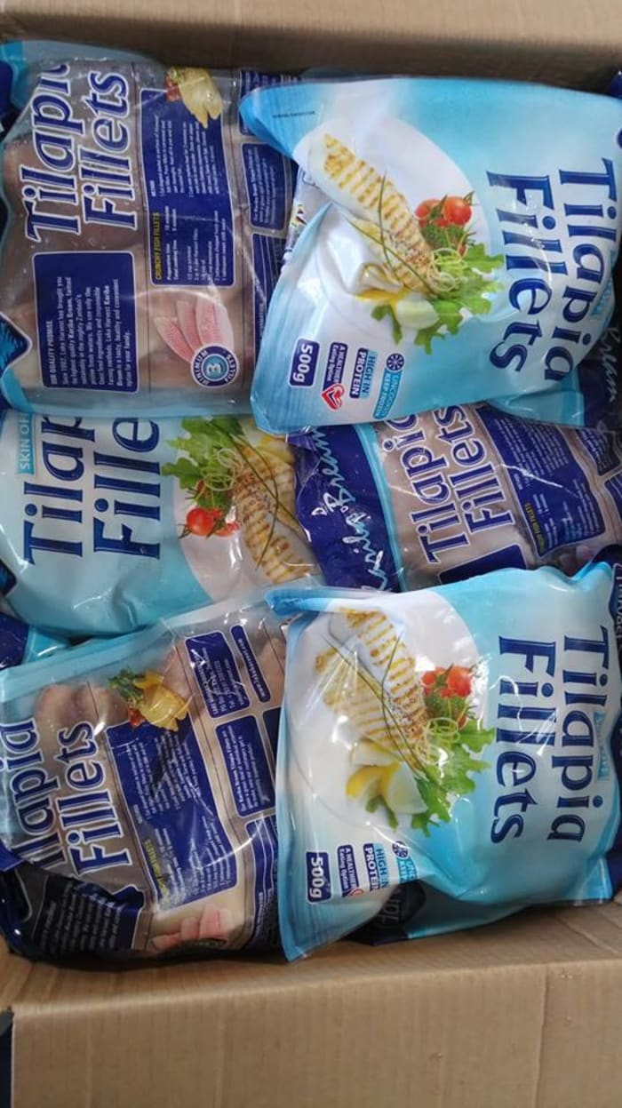 Tilapia fillets available in stock