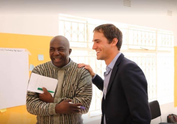 BongoHive hosts American Entrepreneur Michael Szymanski