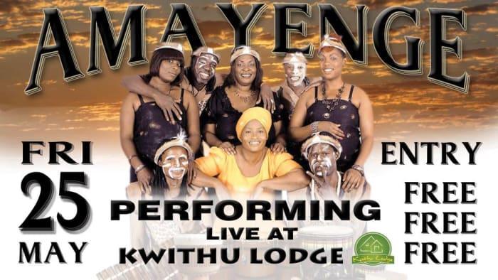 Amayenge performing live