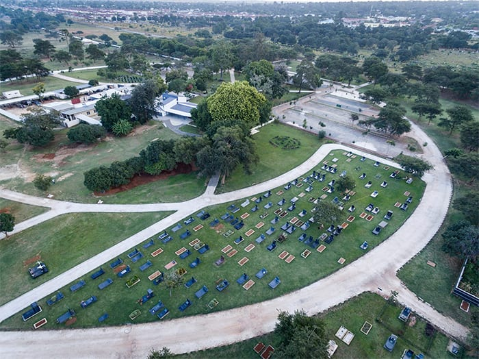 A private cemetery offering quality facilities in landscaped and secure grounds
