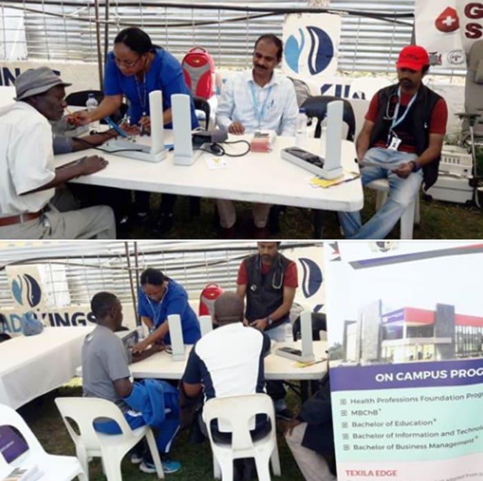 Texila participates in Zambia's 20th Annual Inter-company Relay