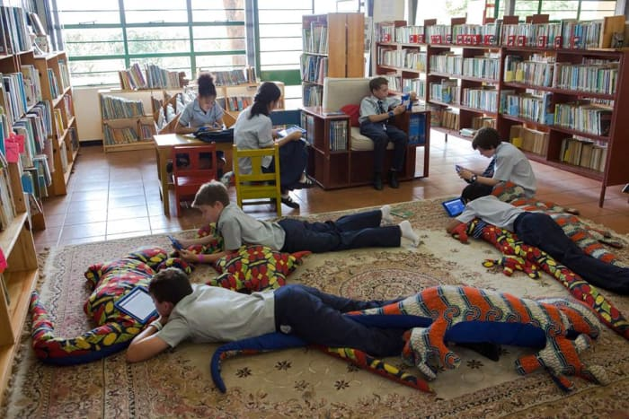 112 million words read with Baobab's 'Accelerated Reader' programme