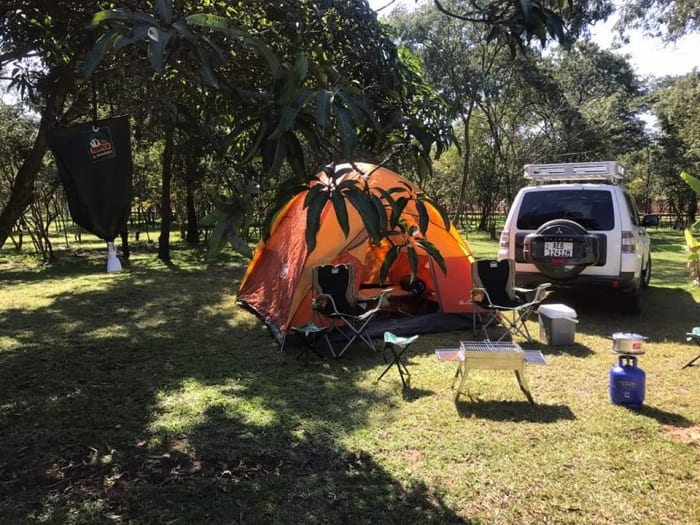 Camping equipment available