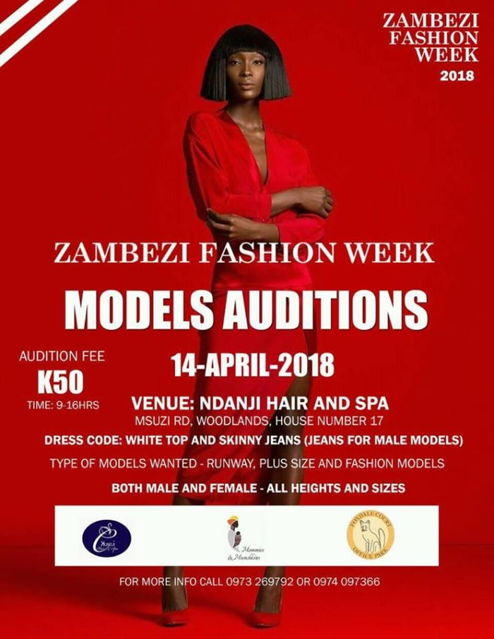 Zambezi Fashion Week 2018