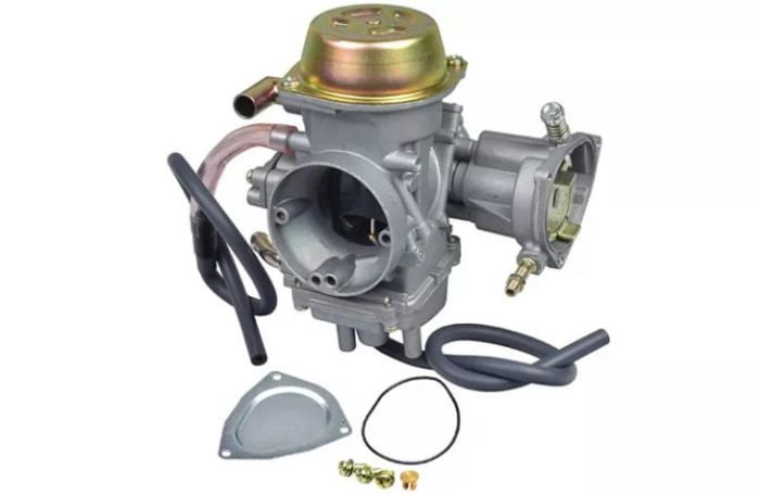 Comprehensive range of motorbike spares and accessories