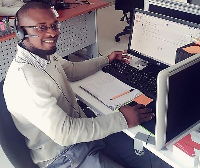 Meet Your Student Advisers: Lwipa Musonda, Lusaka Call Centre
