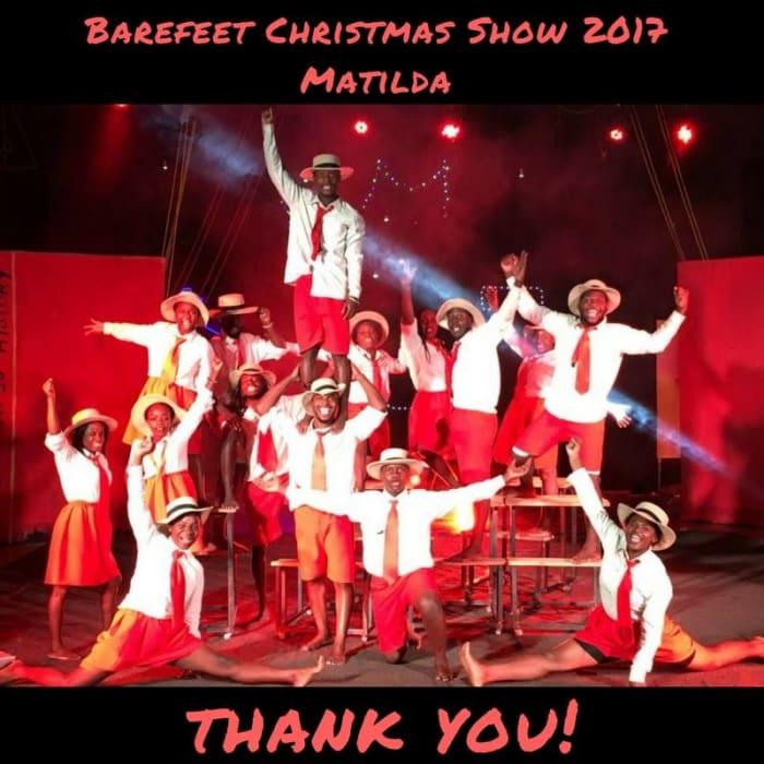 Barefeet hosts Christmas Show for Lusaka's children