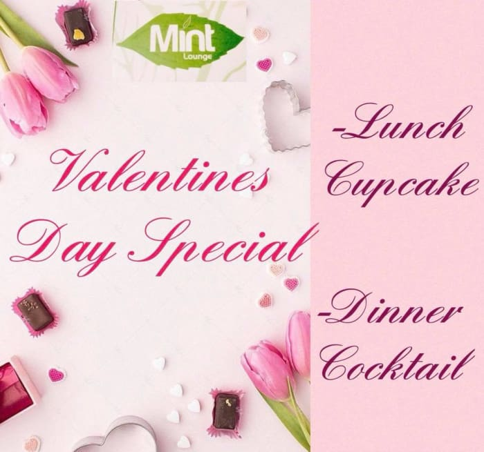 Valentine's lunch and dinner specials
