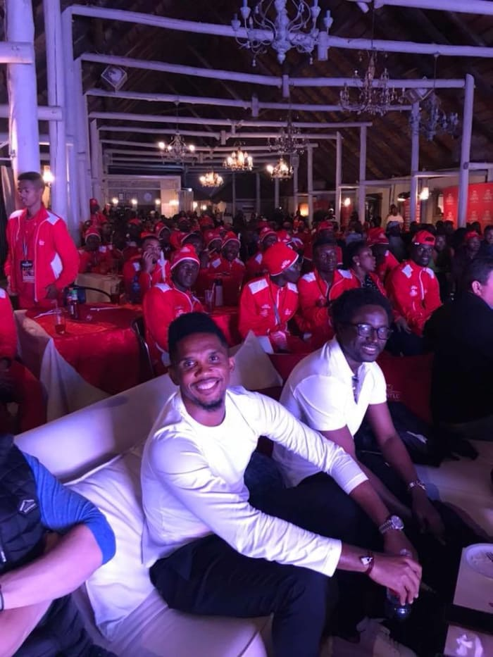 The Horse Shoe hosts Champions League Final Screening with Samuel Eto