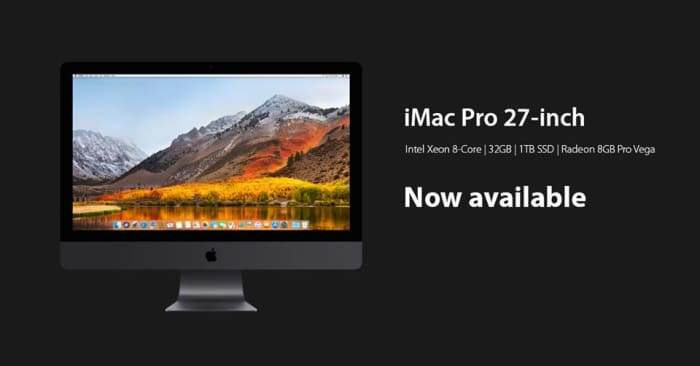 iMac Pro now available