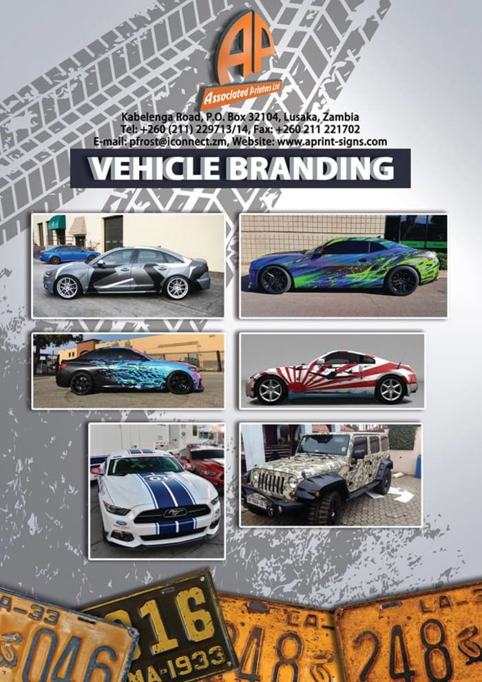 Vehicle branding available