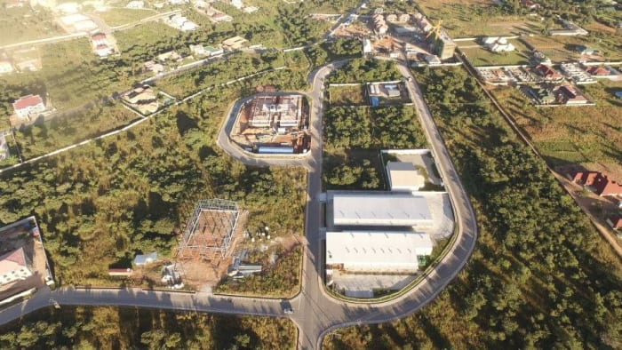 Construction of industrial park underway at Roma