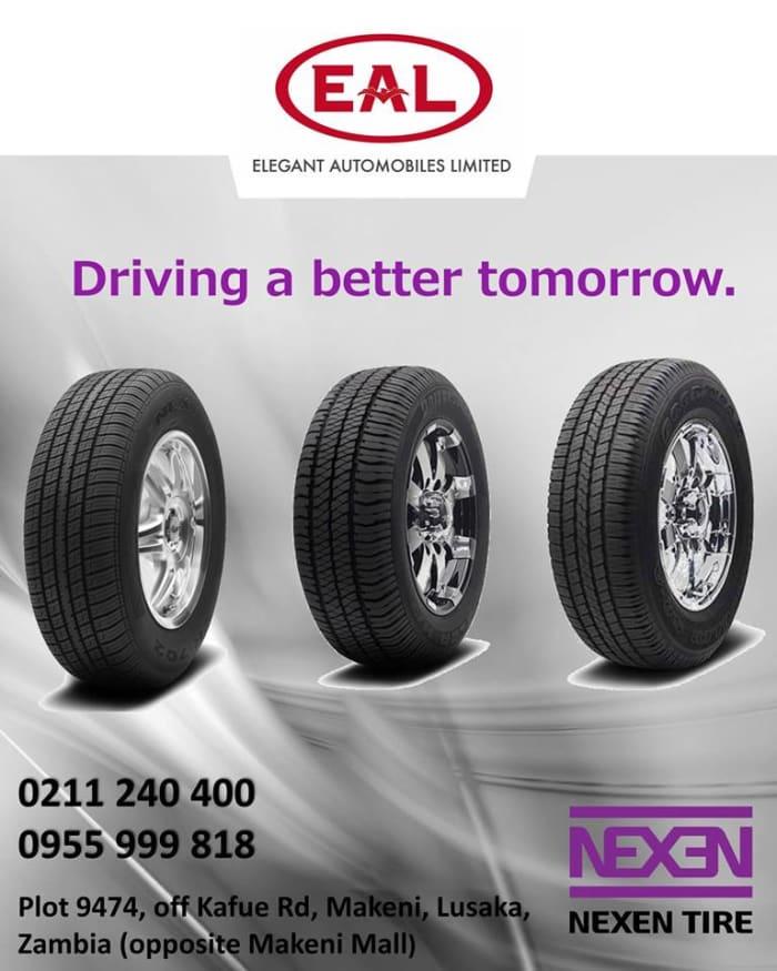 Genuine Nexen Tyres available
