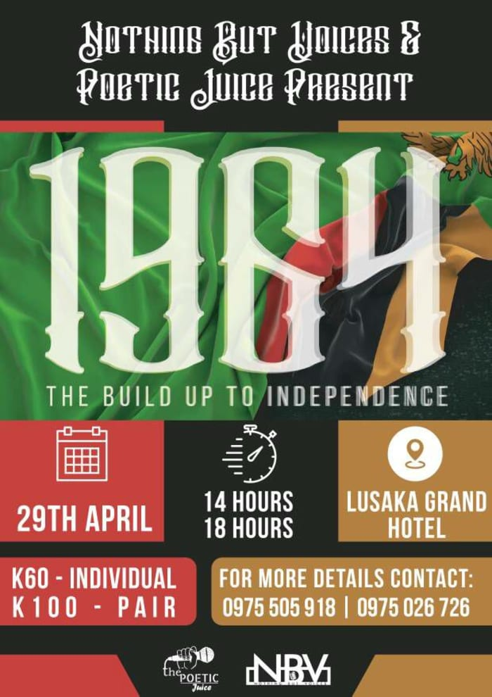 1964: The Build up to Independence - Poetry and Music Show