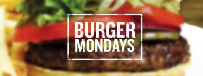 Burger Mondays: Buy 1 get 1 one free