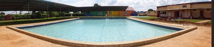 New swimming pool solar heating system