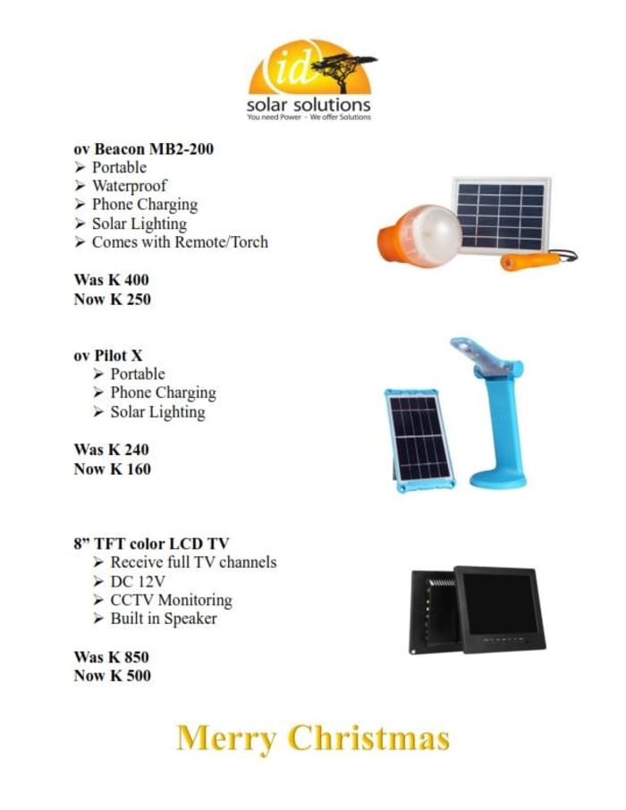 Special  promotions at Id Solar Solutions
