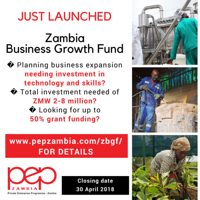 PEPZ launches Zambia Business Growth Fund for SMEs
