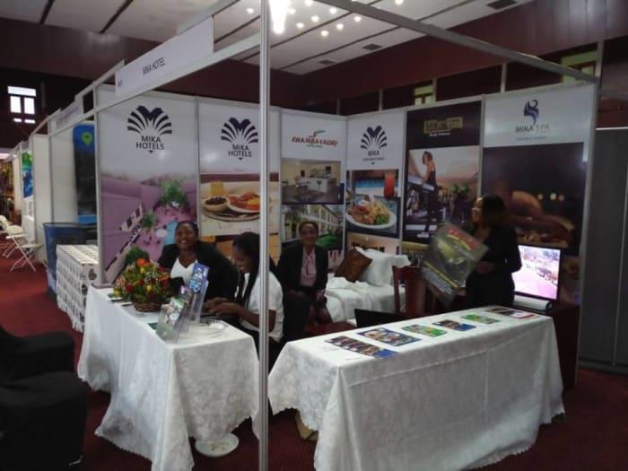 Mika Hotel exhibits at the 4th Zambia Travel Expo