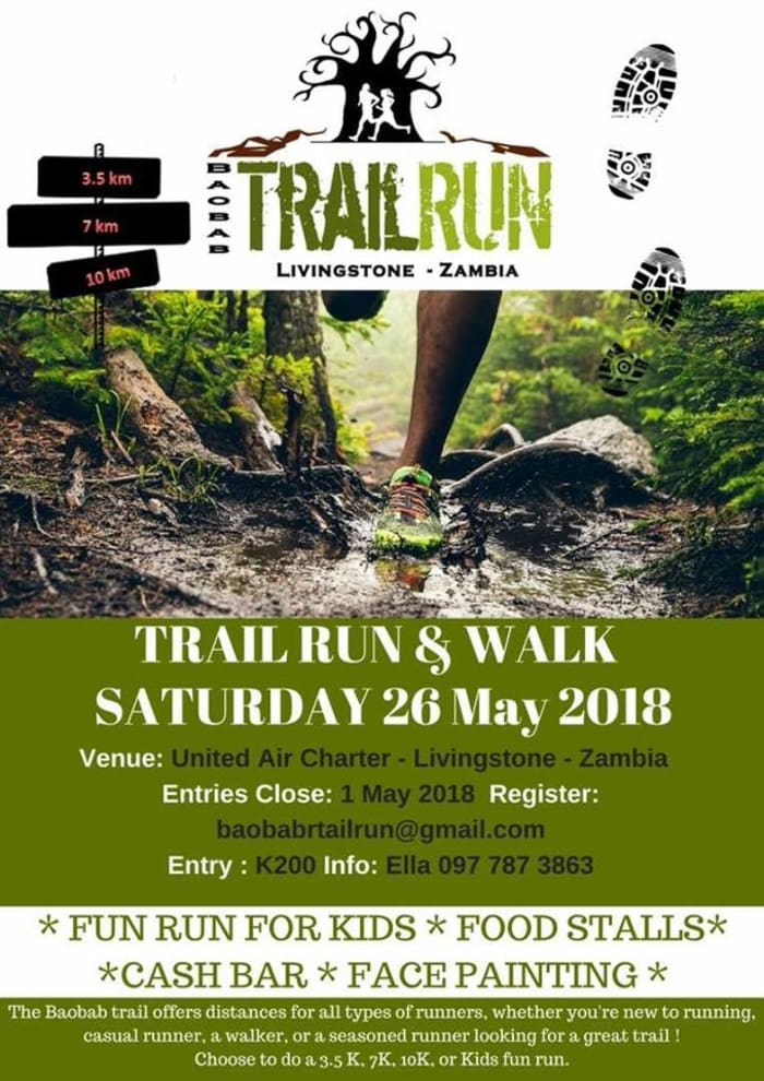 Book your accommodation for the Baobab Trail Run