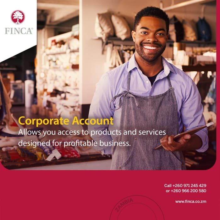 FINCA Corporate Account