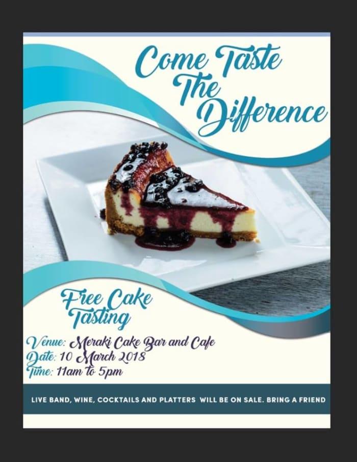 Free Cake Tasting