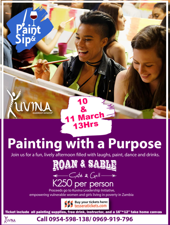 Fundraising Paint & Sip session