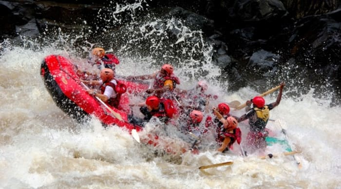 High water rafting trips for the 2018 season