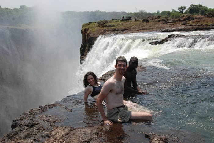 Devil's Swimming Pool and Livingstone Island Tour