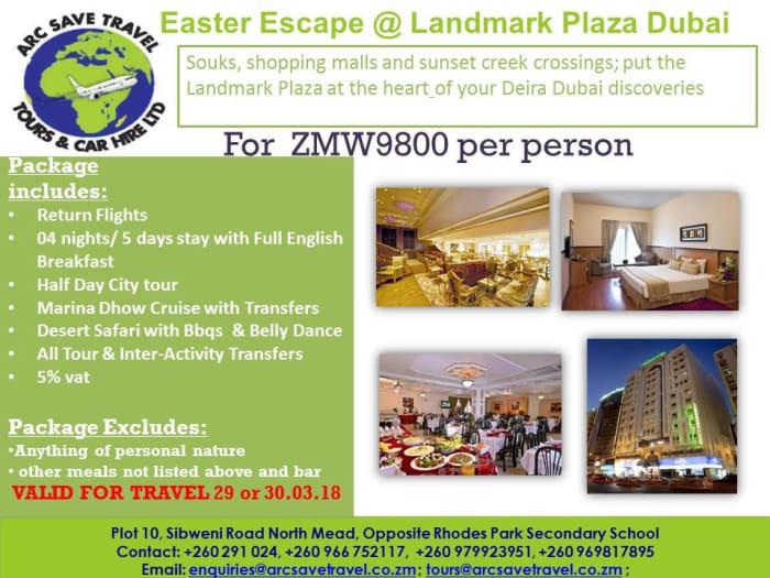 Dubai Easter Escape package