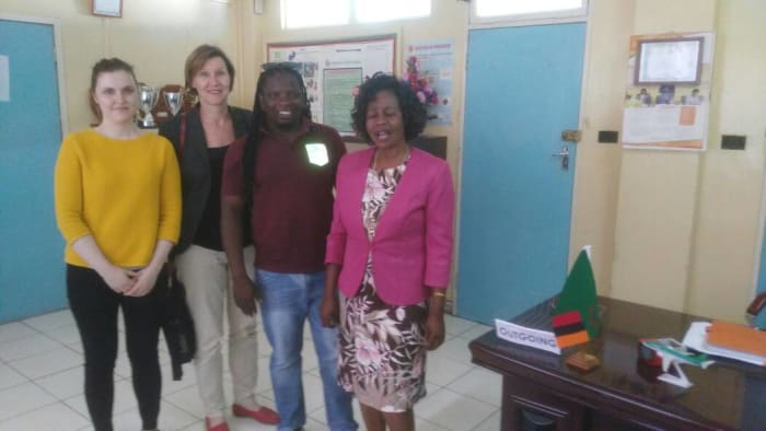 Barefeet receives visitors from the Ministry of Foreign Affairs of Finland
