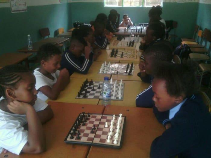 Chess club at Noah's Ark School