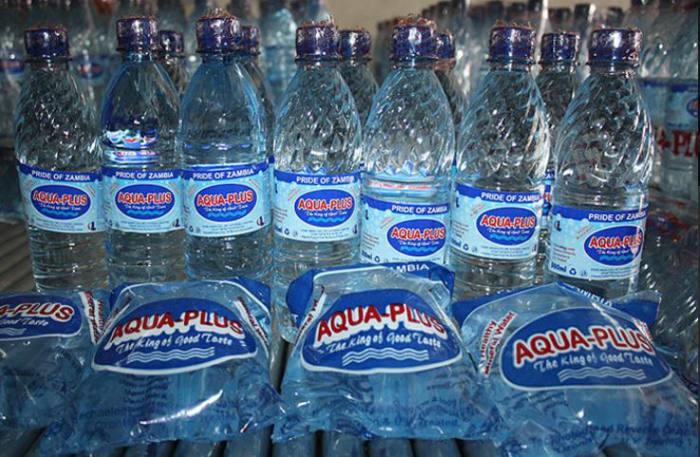 Aqua Plus bottled water, superbly refreshing!