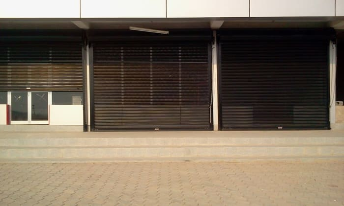 Keep your premises secure with roller shutters