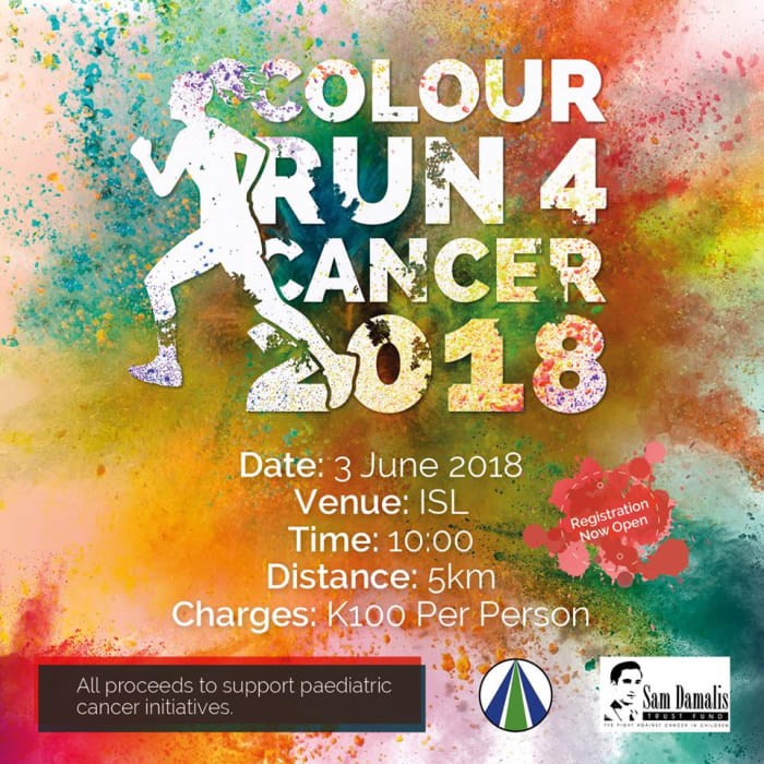 ISL Colour Run for Cancer 2018