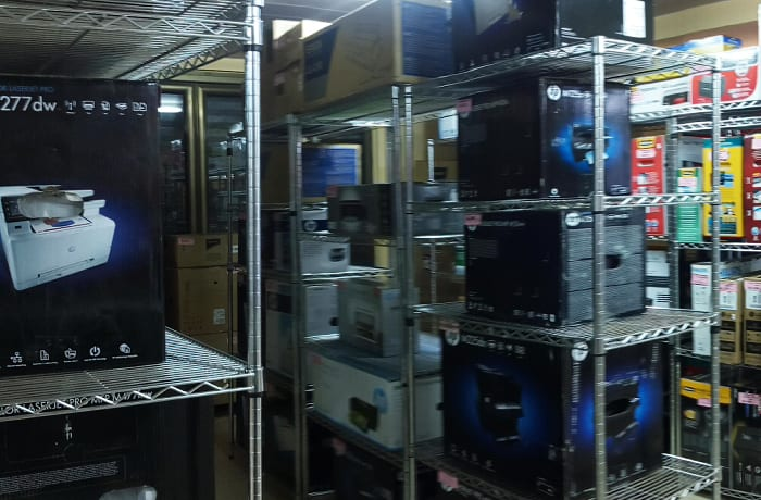 A full range of computers and accessories