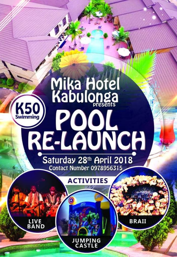Mika Hotel Pool Re-launch