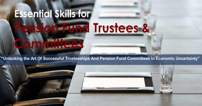Seminar for pension fund trustees and committees