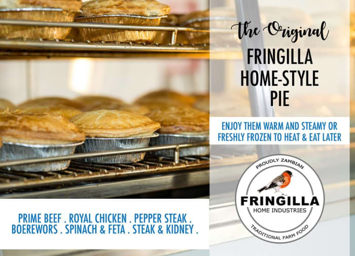 Try Fringilla's delicious home-style pies