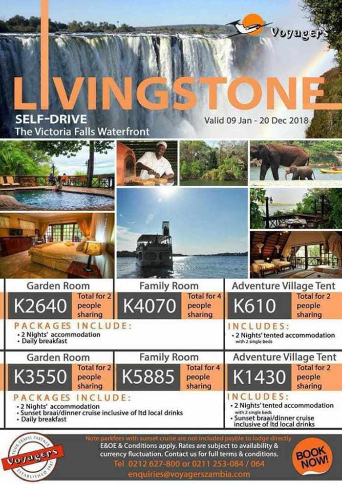 Livingstone self-drive package