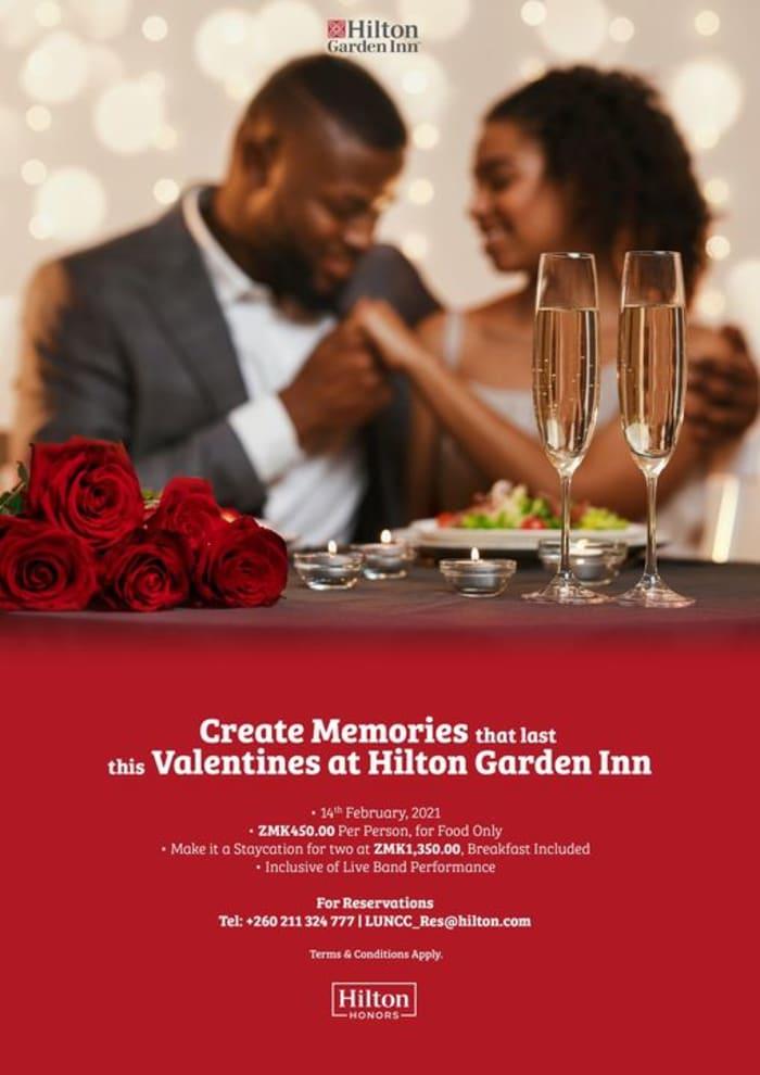Create memories that last with Hilton Garden Inn this Valentines