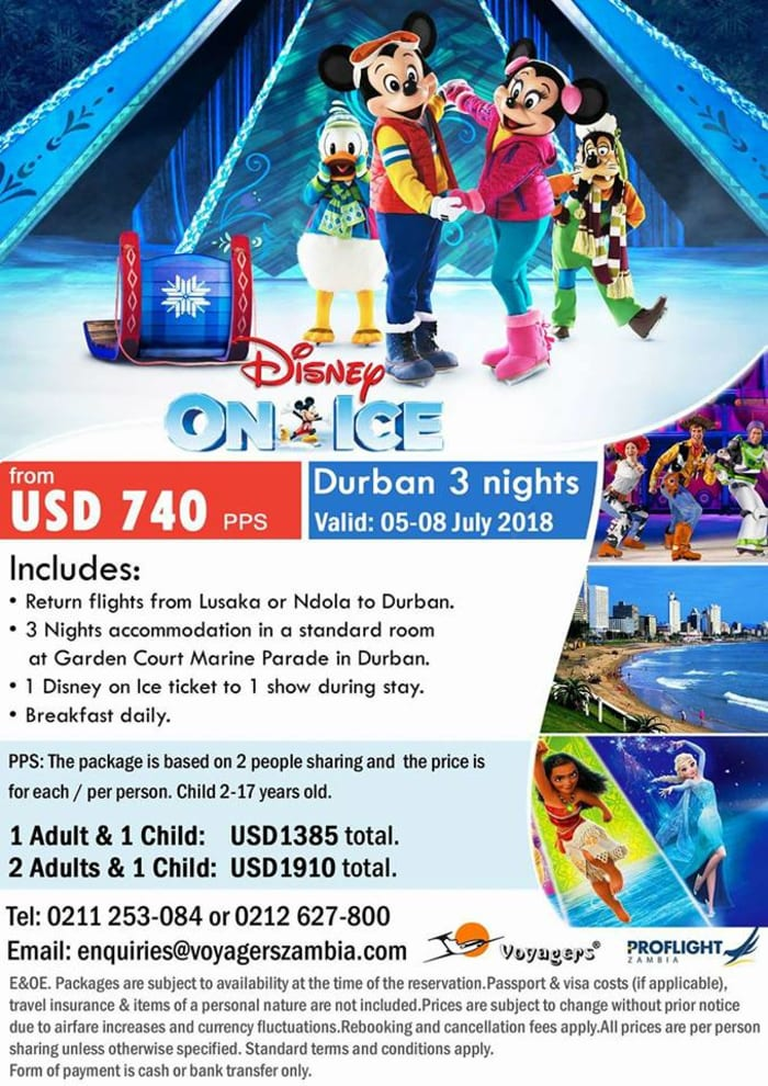 Disney on Ice - Durban package